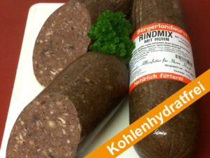 Dog Center Bergerland Nordkirchen - Bergerland Wurst Rind-Huhn-Mix